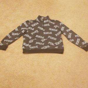 Pin Brand front zip sweatshirt
